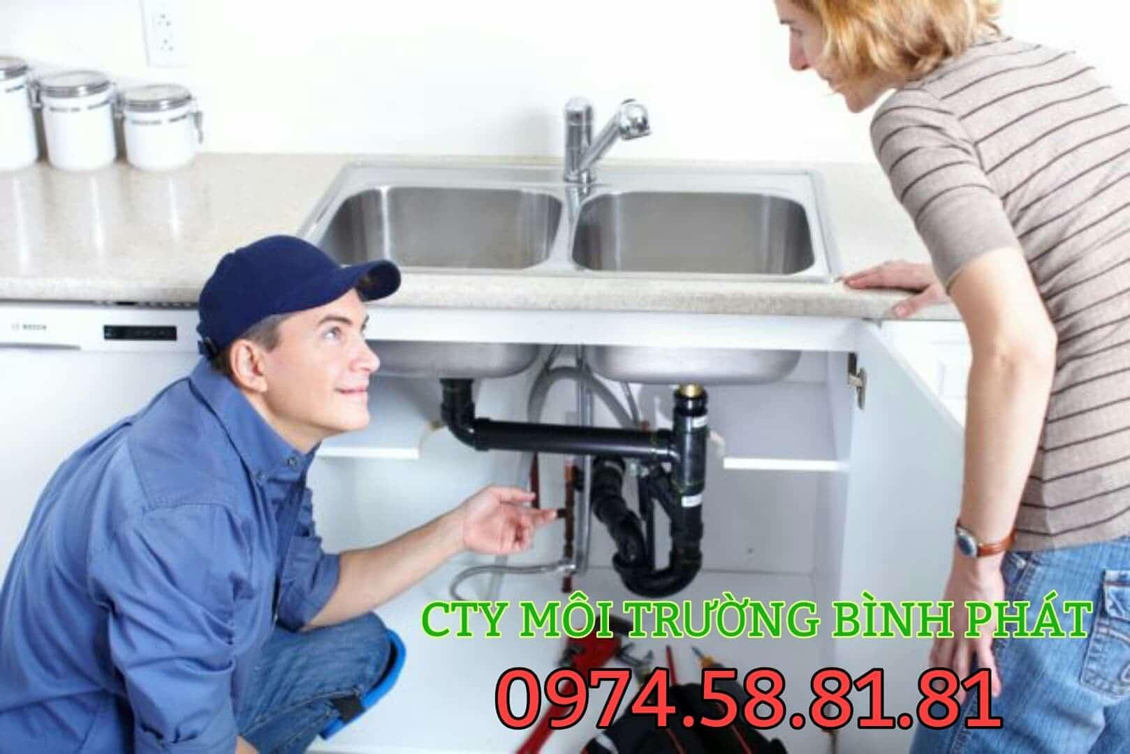 sửa chữa bồn rửa chén