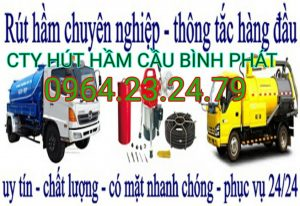 Hút hầm cầu Bình Định