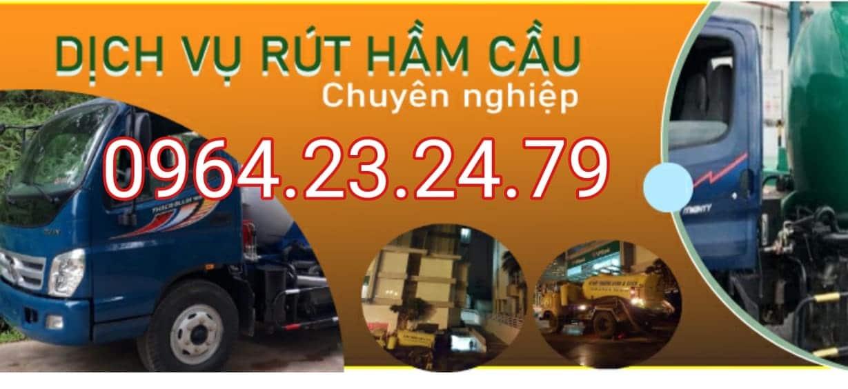 Hút hầm cầu thị xã An Nhơn