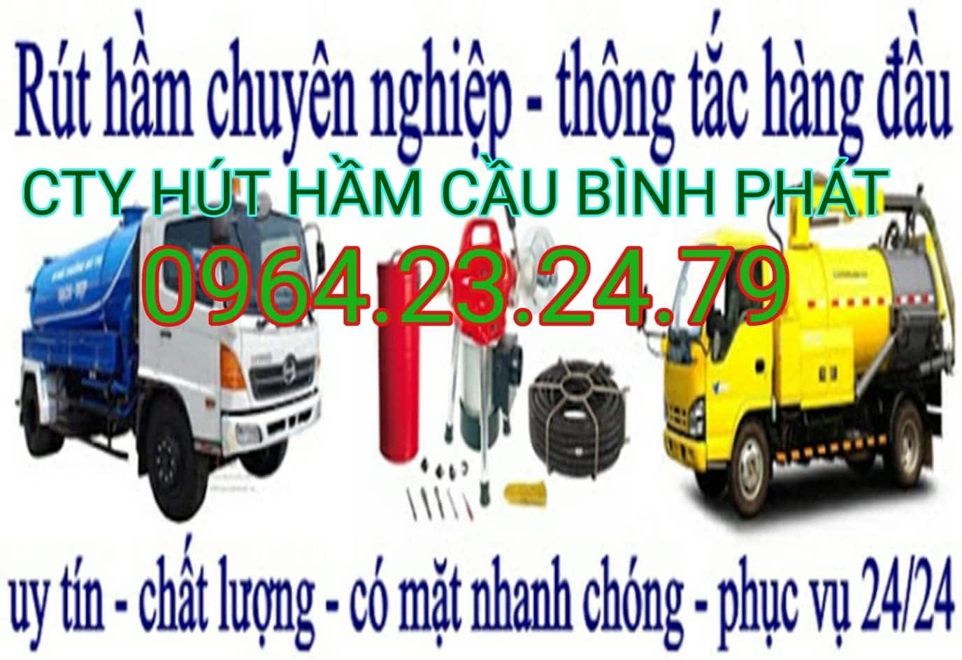 hút hầm cầu huyện Tuy Phước