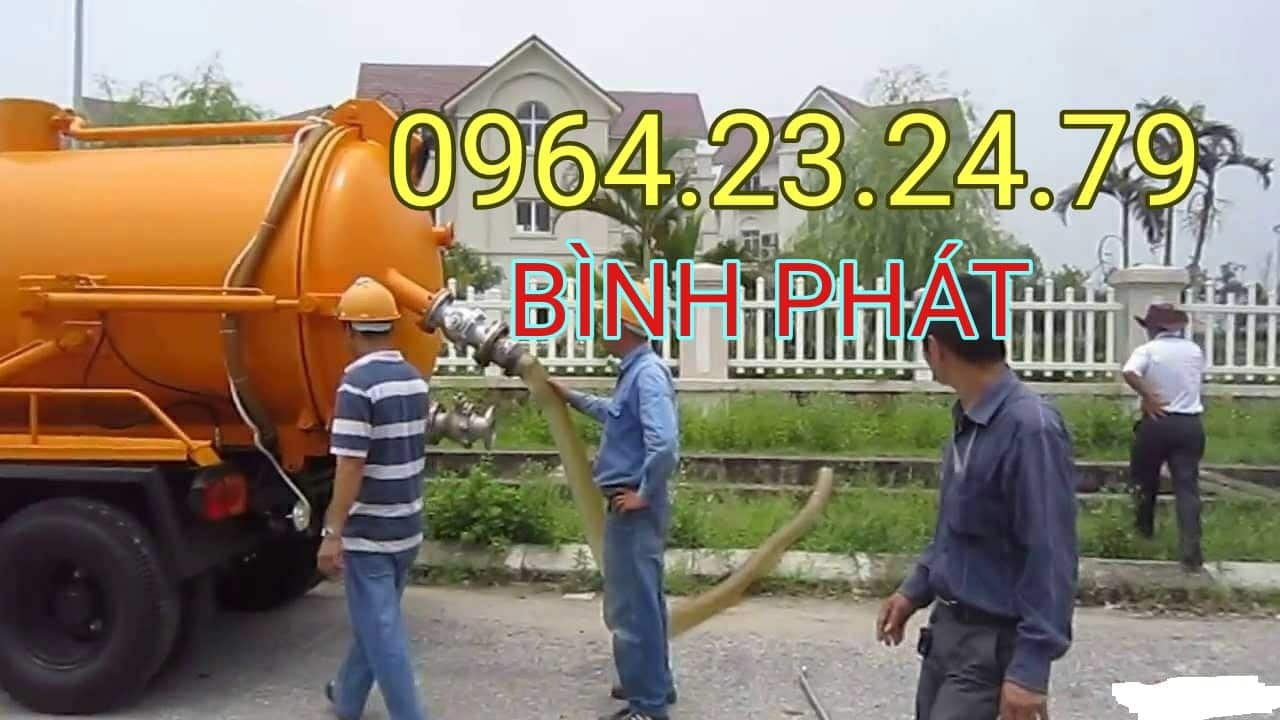 Hình ảnh hút hầm cầu huyện Tuy Phước